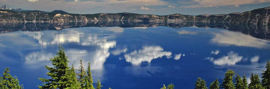 Crater Lake in Klamath Falls, Oregon